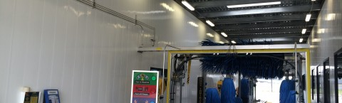 Finished PVC Wall Panels for Car Wash Walls